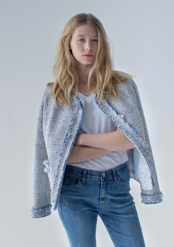 Denim Tweed Jacket