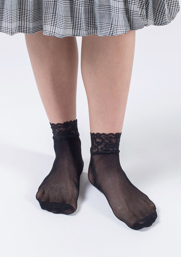 Lace Fishnet Socks