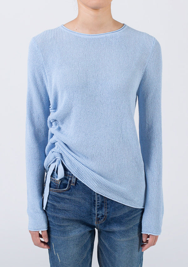 Side Ruching Sweater