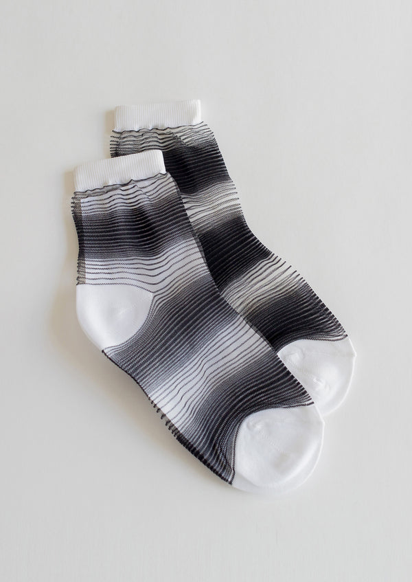 Ombre Sheer Socks