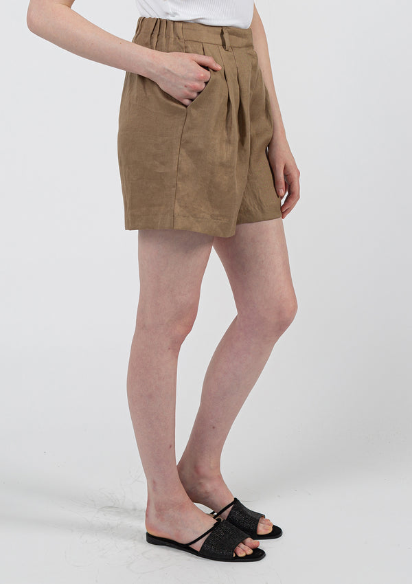 Safari Linen Set Shorts
