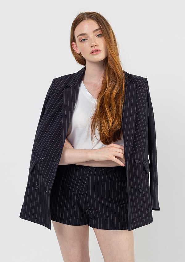 Pin Stripe Suit Jacket