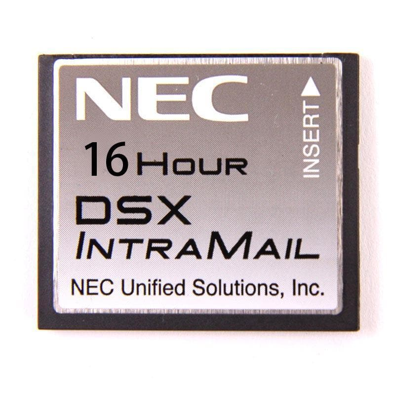 NEC DSX IntraMail 8-Port x 16-Hour Voice Mail (1091013)