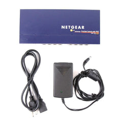 Netgear ProSafe FS108P 8 Port 10/100 Switch w/ 4 PoE (FS108PNA)
