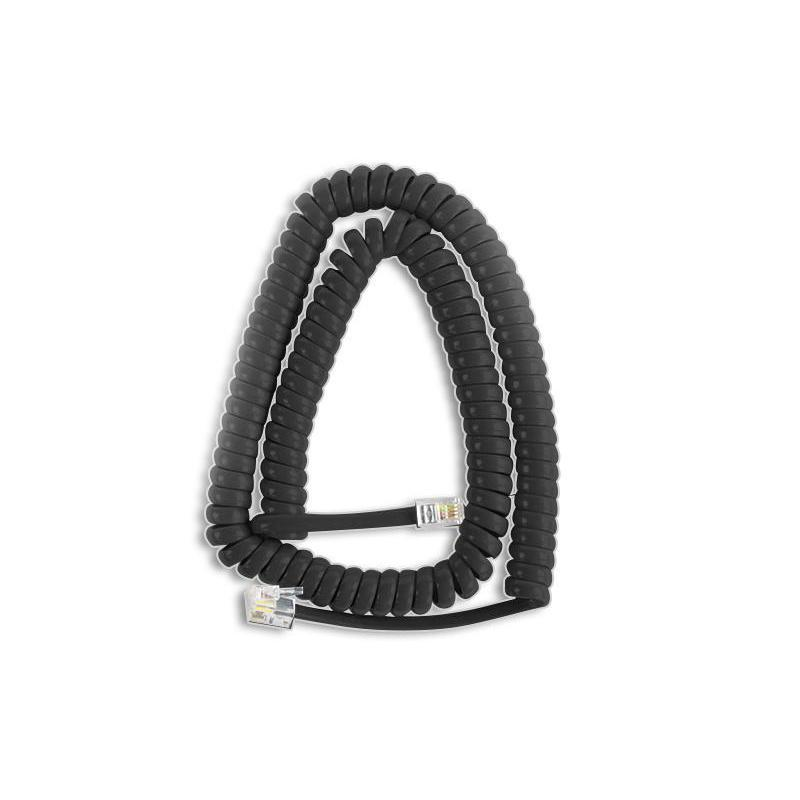 Charcoal Replacement Handset Cord