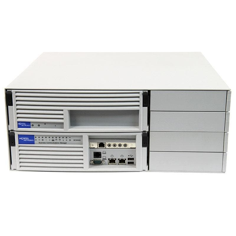 Nortel BCM 4.0 400 Base System 2 LAN Redundant (NT7B10AAFT)