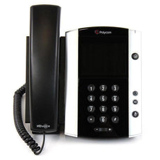Polycom VVX 500 Gigabit IP Phone (2200-44500-025)