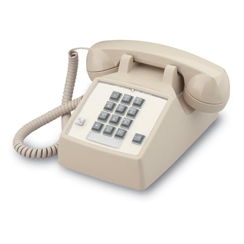 2500 Basic Desk Phone w/ Flash & Message Waiting (250044-VBA-27F)