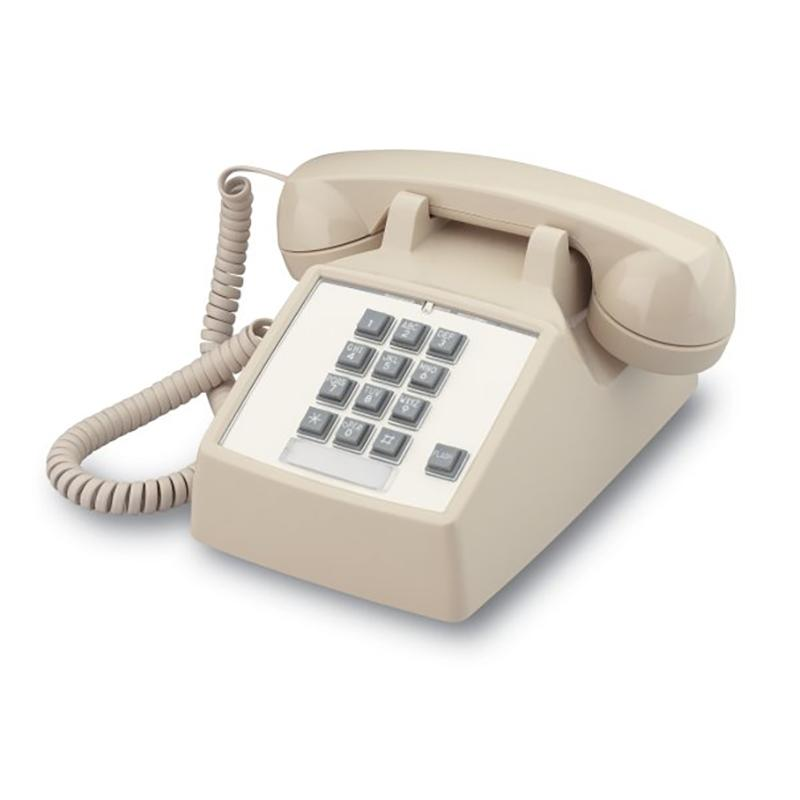 Cortelco 2500 Basic Desk Phone with Flash (250044-VBA-20F)