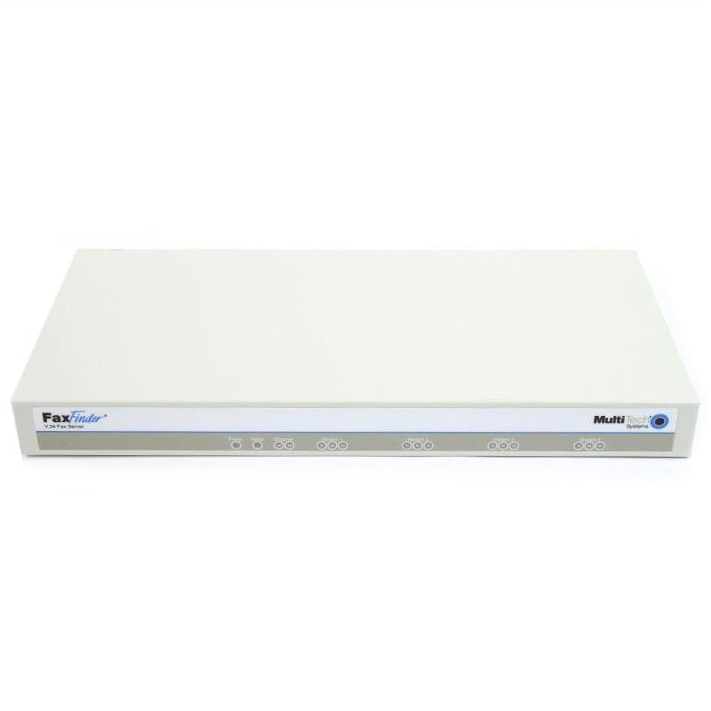 MultiTech FaxFinder FF430 4-Port Fax Server (92500720LF)