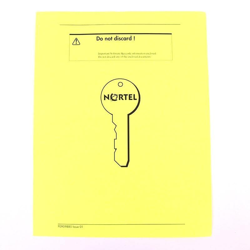 Nortel BCM 450 Fax Overflow License (NTC01032KC)