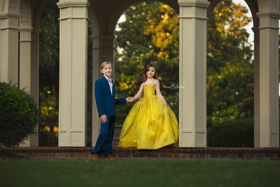 RENT The Hadley Gown in Chartreuse: Size 7, fits sizes 5-9