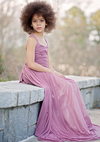 The Danielle Dress: Deep Mauve