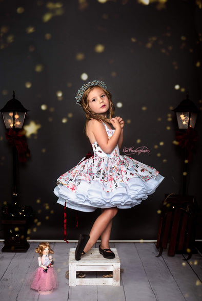 The Traveling Dress Project: The Nutcracker Dress: Size 5 Shortie, fits sizes 2T-7