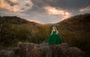Rent The Leisel Gown in Emerald Green - size 8: fits 5-10 yrs