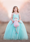 Rent The Leisel Gown in Minty Aqua - Size 7: fits 6/8