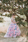 The ELIZABETH Gown in Floral Regalia