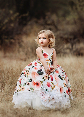 Rent The Poppy Gown - Size 3: fits 2/4