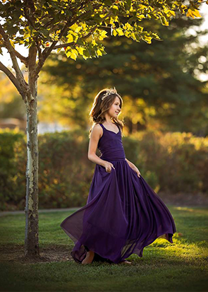 The Danielle Dress: Plum