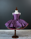 Traveling Rental Dress: Hadley Rainbow: PLUM: Size 2: fits sizes 18months-4T