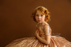 Rosegold Sequin Ball Gown