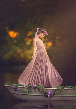 The Danielle Dress: Dusty Lavender