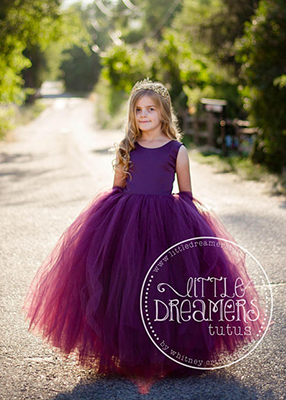 The Juliet Dress: Eggplant