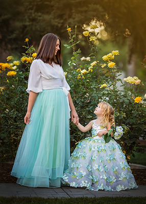 Momma Skirts - One Size Fits Most - Mint Green
