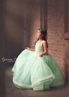 Rent The Elizabeth Gown in Seafoam - Size 8: fits 7/10
