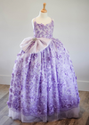 Rent The Dahlia Gown in Lavender - Size 5: fits 4-7