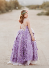 The Dahlia Gown in Lavender