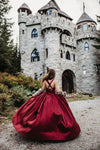 The Hadley Gown in Burgundy
