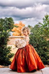 RENT The Hadley Gown in Rust: Size 8, fits sizes 6-10