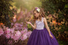 The Ophelia Dress: Lavender Bodice and Plum Skirt
