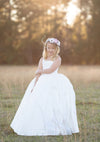 RENT The Hadley Gown in Off-White: Size 8, fits sizes 6-10