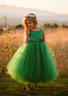 The Grace Dress: Emerald Green