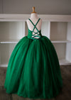 The Leisel Gown - Emerald Green