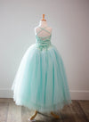 The Leisel Gown - Minty Aqua