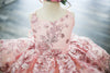 Traveling Rental Dress: The Addison Shortie in Pink Shimmer: Size 6, fits sizes 4-8