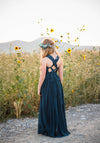 The Danielle Dress: Dark Teal