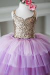 Rent The Pink Sugar Cupcake Gown: Size 3: fits 18months-5yrs