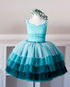 The Cupcake Gown in Teal