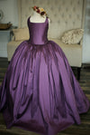 The Hadley Gown in Plum