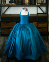 READY to SHIP - The Hadley Gown in Peacock Blue withOUT a Tutu Sewn in!!!