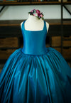 RENT The Hadley Gown in Peacock Blue: Size 5, fits sizes 4-7