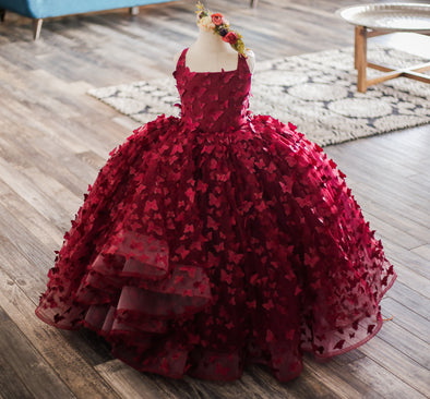 The Traveling Dress Project: The Emersyn Gown - Full length - Size 5, fits sizes 4-6