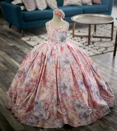 The Traveling Dress Project: The Leila Gown. Size 7, fits sizes 5-9