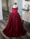 The Traveling Dress Project: The Brinley Gown in Burgundy: Size 14, fits sizes 10-14