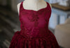 The Traveling Dress Project: The Brinley Gown in Burgundy: Size 6, fits sizes 4-slender 8