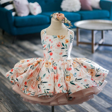 The Traveling Dress Project: The Lilyann Gown: Size 6 Shortie: fits sizes 4-8